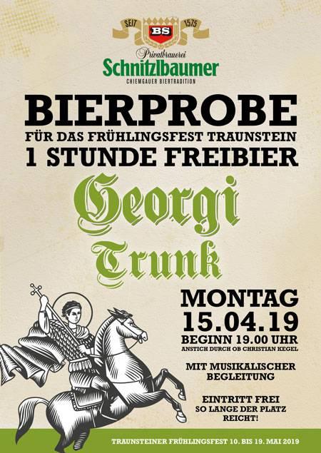 Bierprobe für das Frühlingsfest Traunstein 1