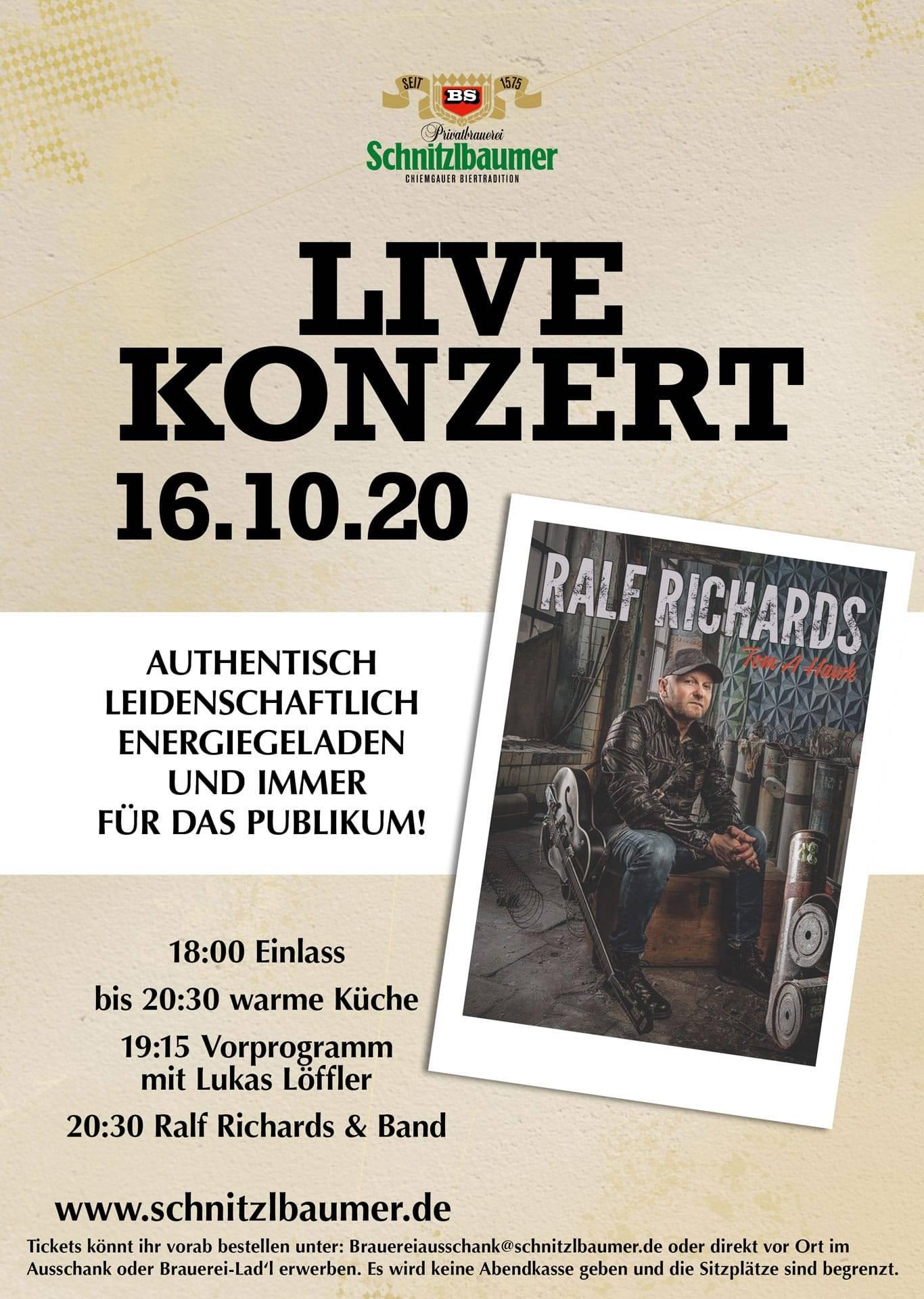 Live Konzert Ralf Richards & Band 1