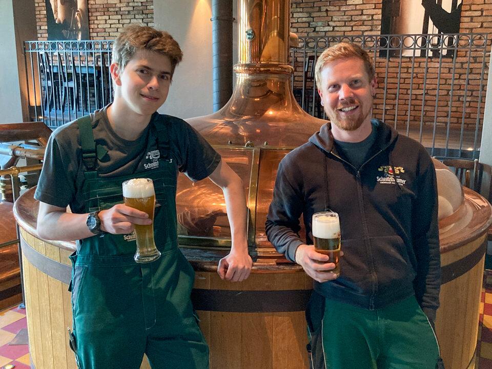 Neuer Mitarbeiter in der Brauereifamilie Frauendörfer 6