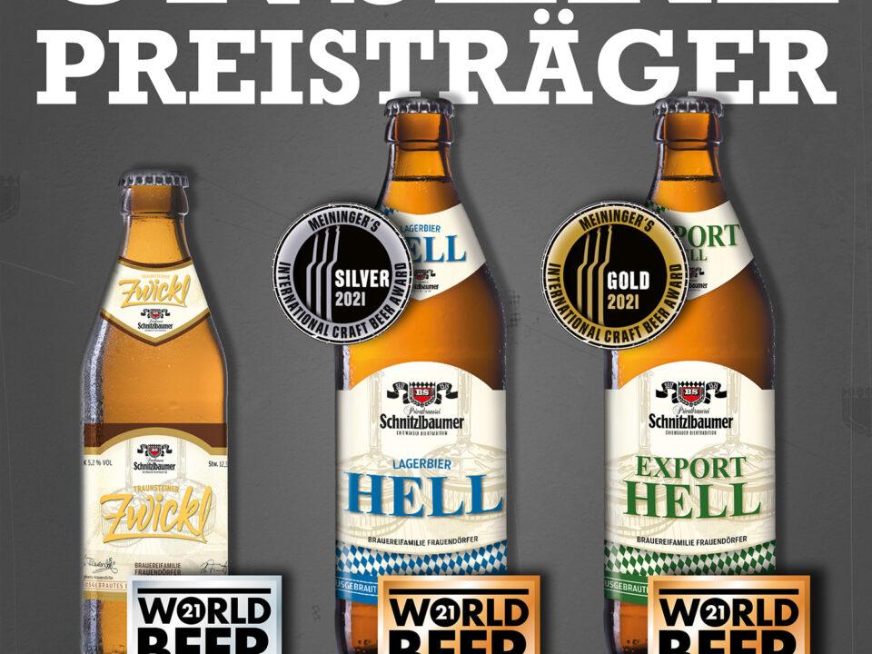 Auszeichnungen bei Meiningers Craftbeer Award 2021 und bei den World Beer Awards 2021 4